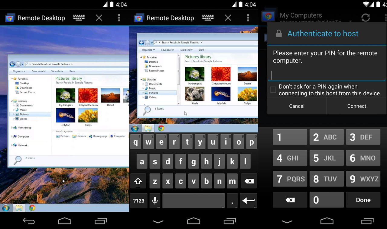 Управляйте своим компьютером со смартфона или планшета: Chrome Remote Desktop для Android