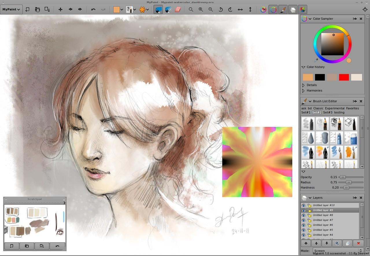 Программы для рисования: Когда под рукой нет масла и пастели