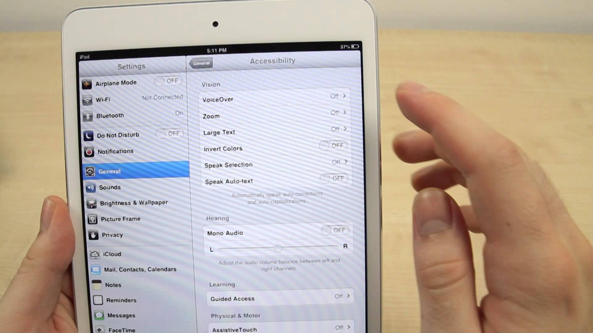 Как настроить iPad