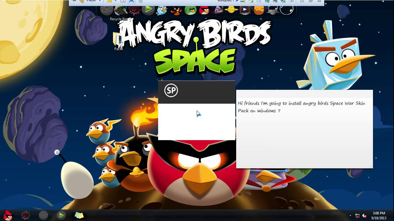 Angry Birds Space для Windows 8