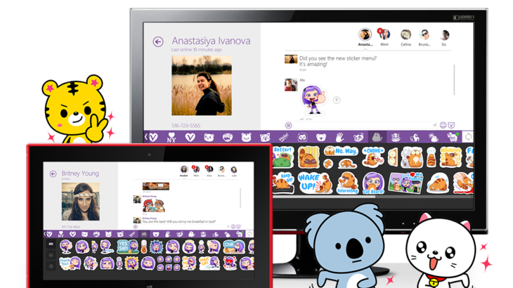 Встречайте Viber для Windows 8