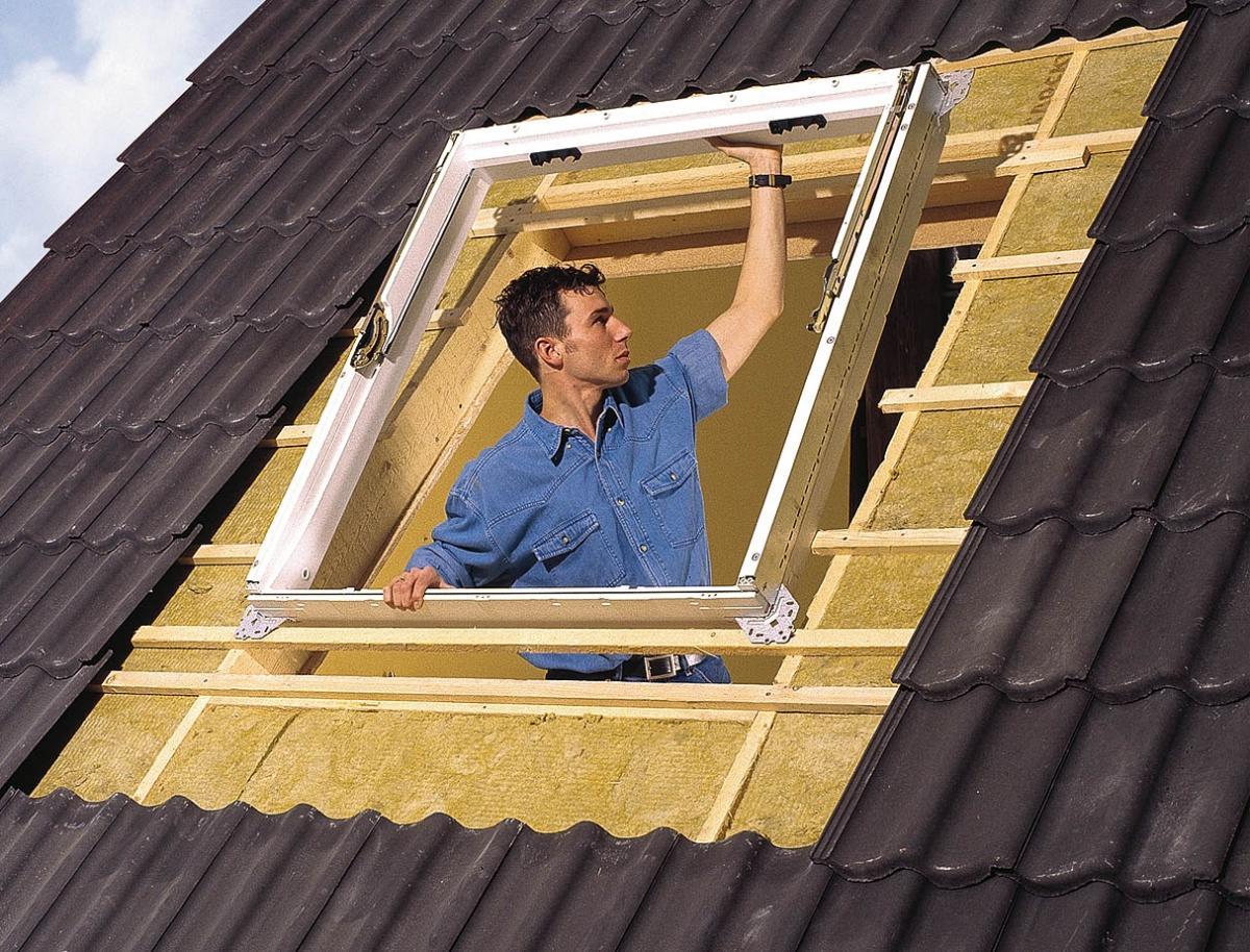 Как сделать в крыше окно
