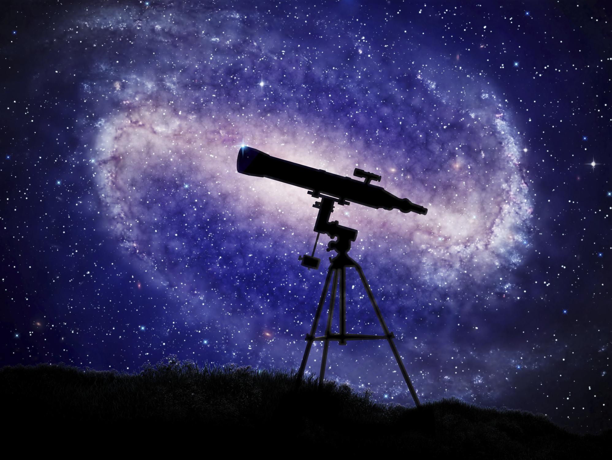 Звёздное небо онлайн: телескоп в интернете