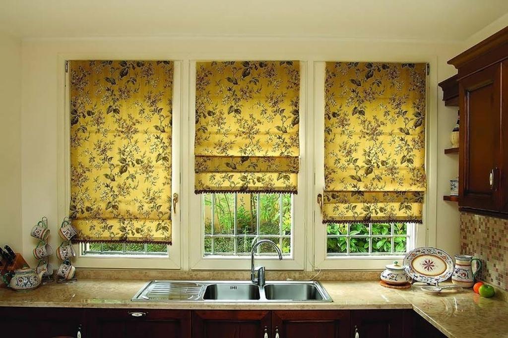 Как сделать римскую штору своими руками: изменим дизайн окна