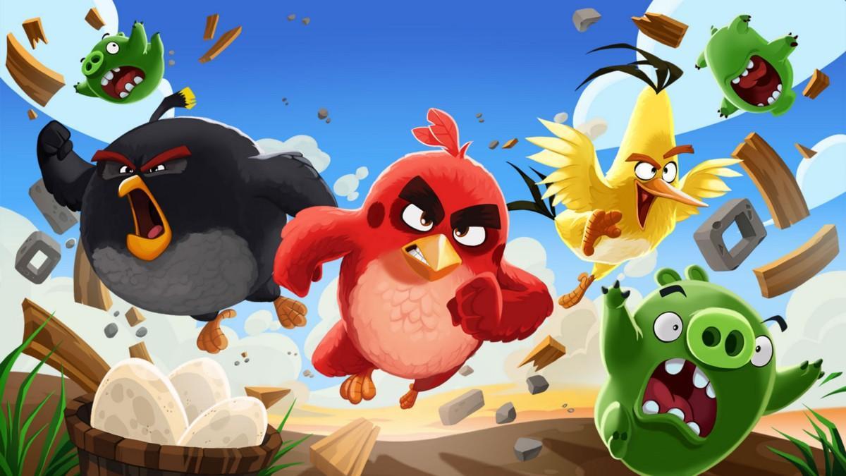 Angry Birds против петушиных боев