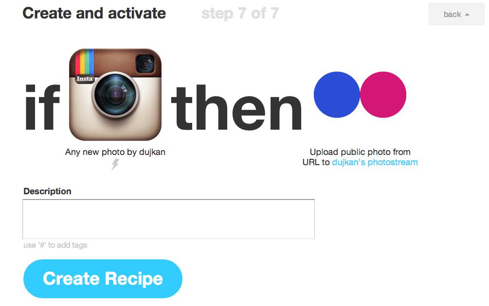 Как перенести фотографии из Instagram в Flickr