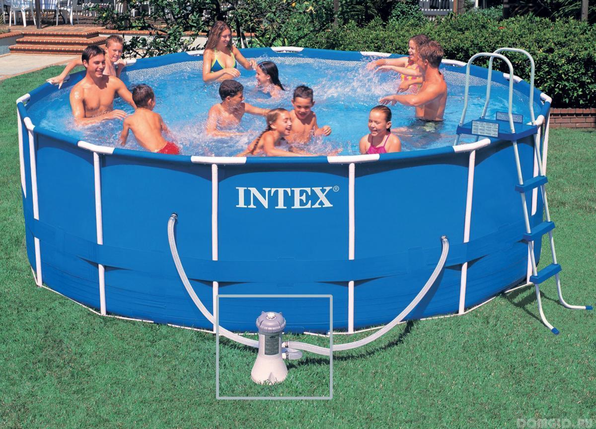 Как собрать каркасный бассейн