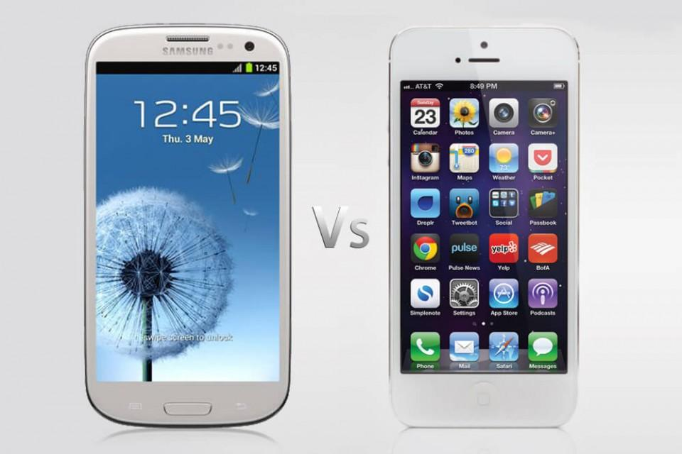iPhone 5: Сравнение с основными соперниками
