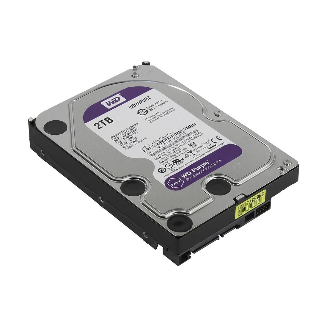 WD создала жесткий диск Purple, предназначенный для систем видеонаблюдения