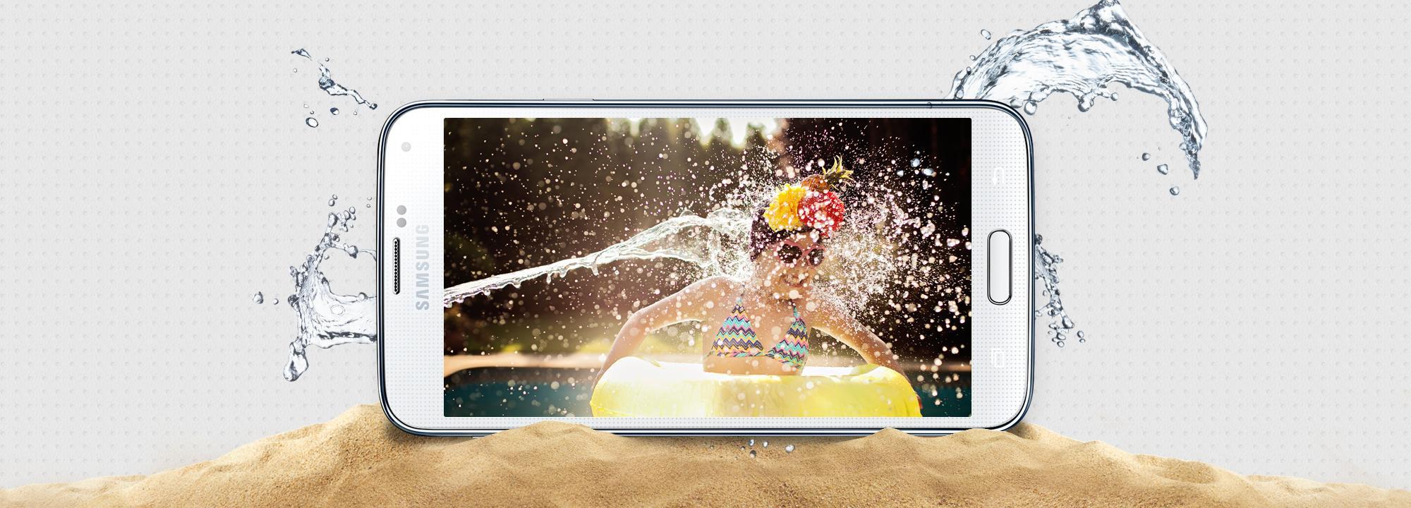 Galaxy S5 будет влаго- и пылезащищенный (слухи)