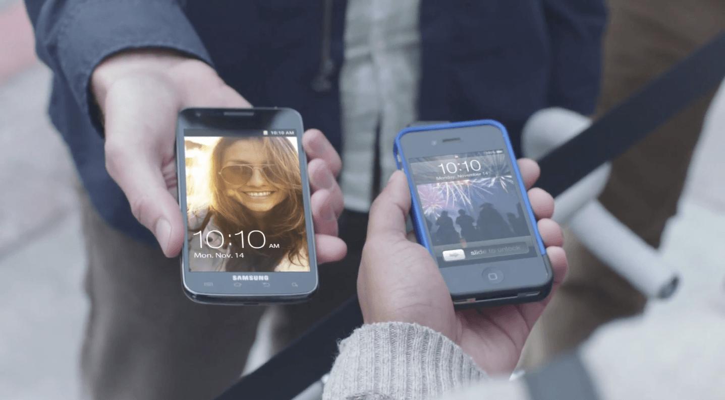 Samsung наносит ответный удар: Антиреклама iPhone 5