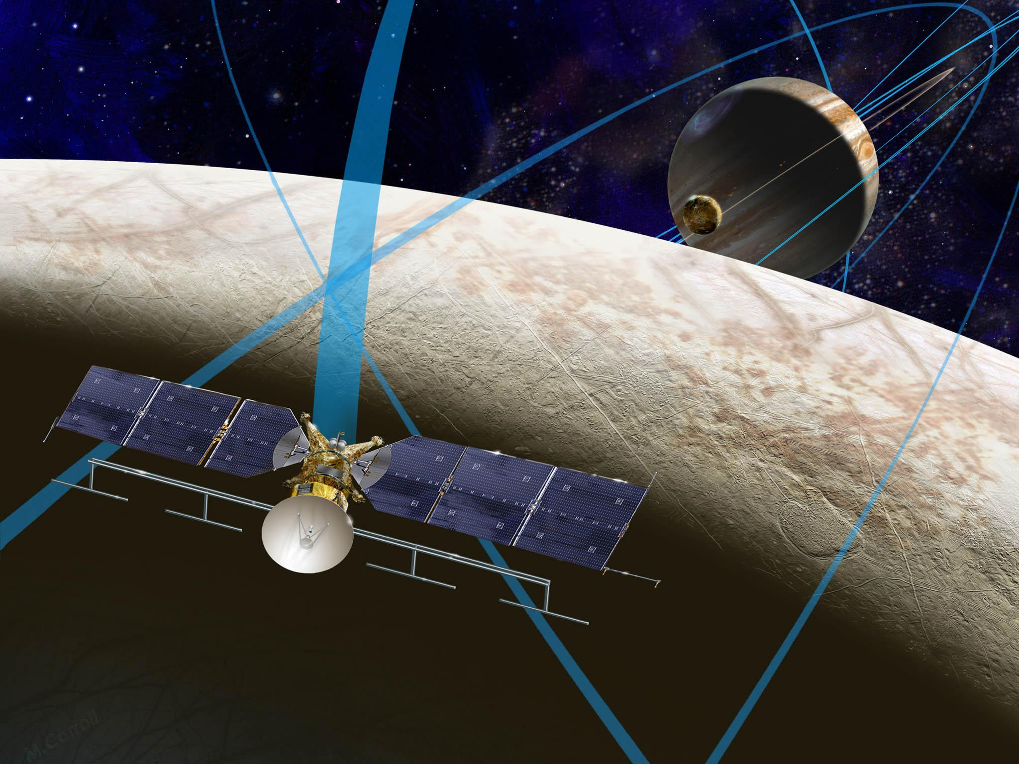 NASA и ESA наладили межпланетарное интернет-соединение
