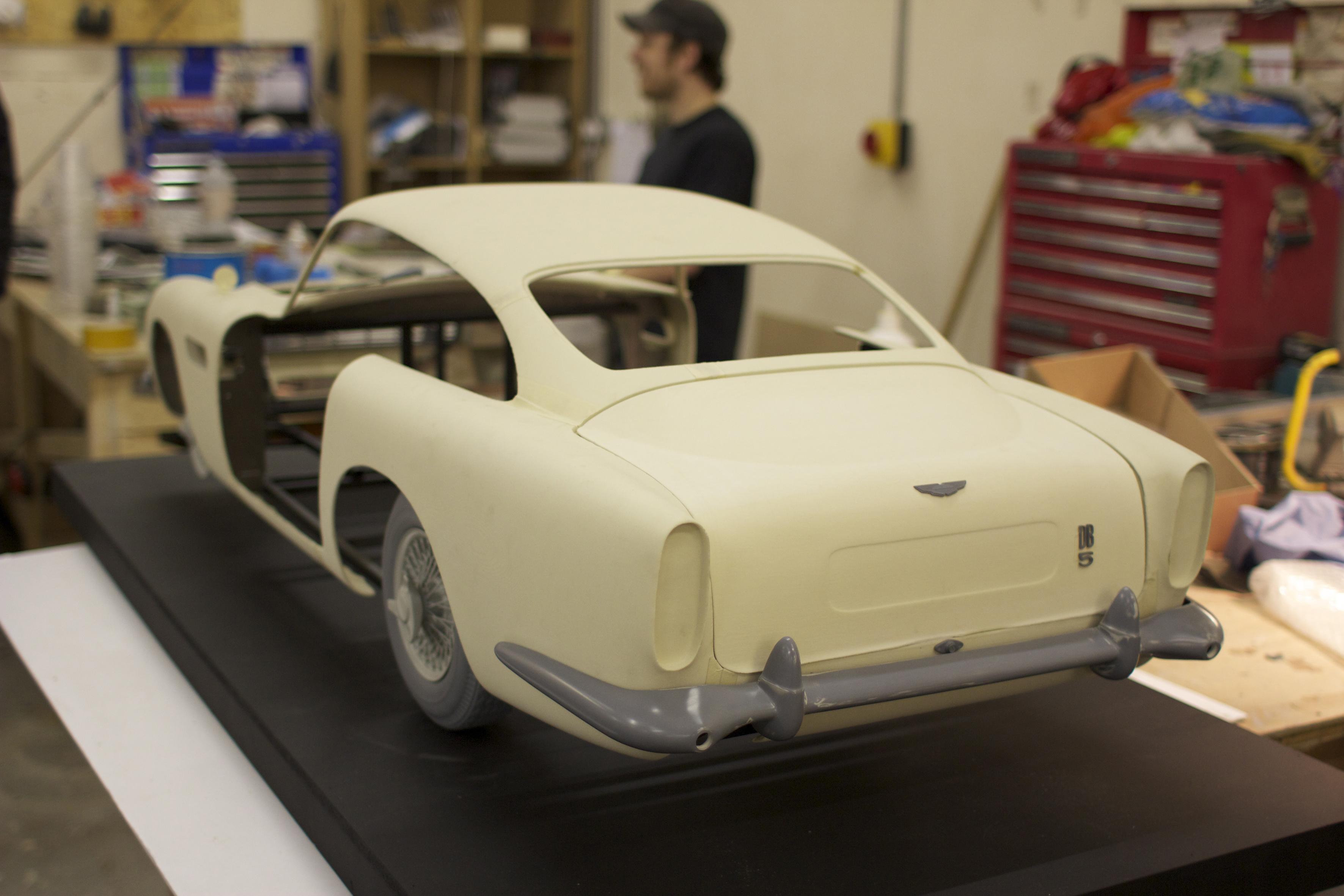 Voxeljet изготовила Aston Martin для Джеймса Бонда на 3D-принтере