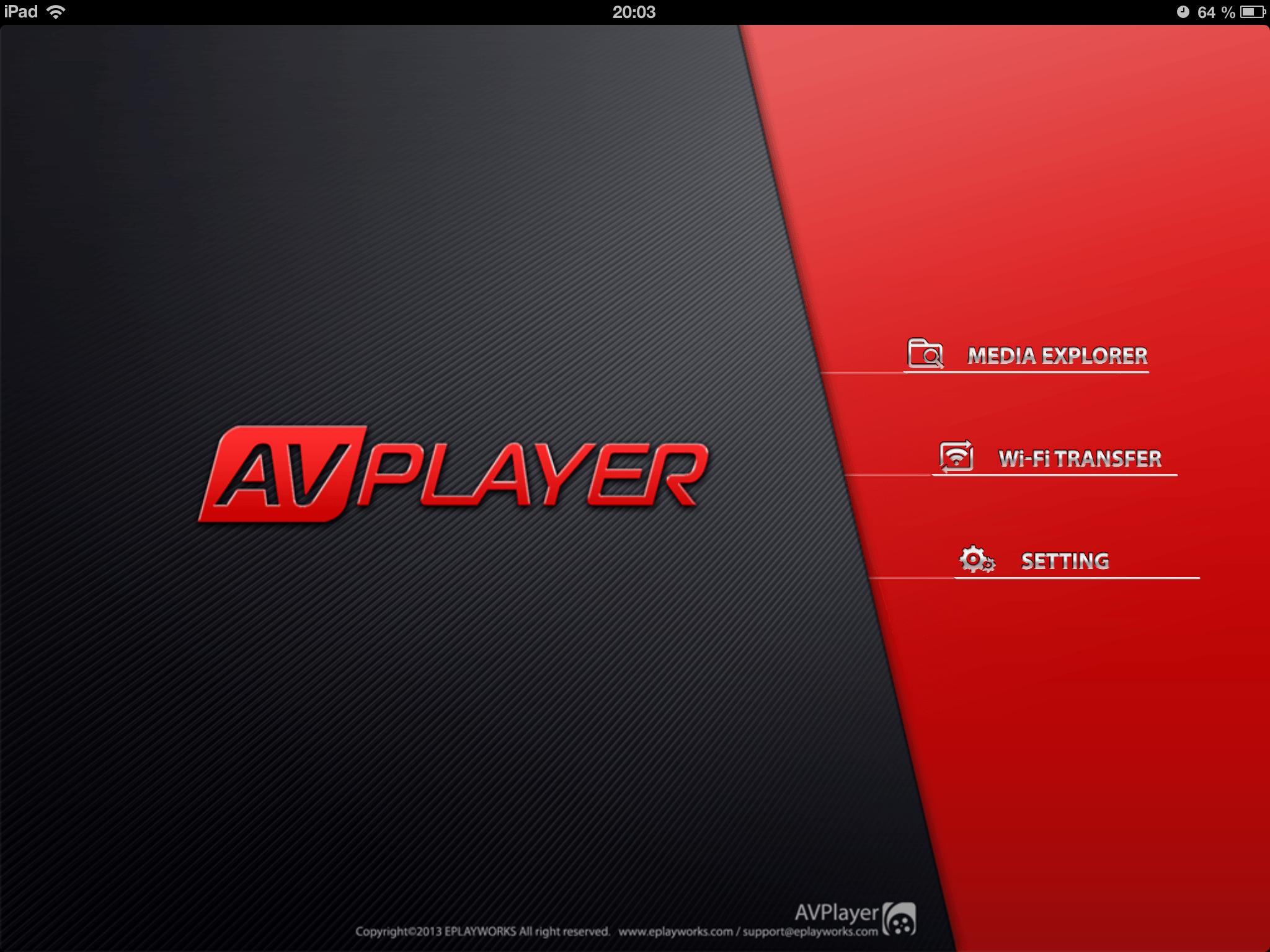 AVplayer для iPad