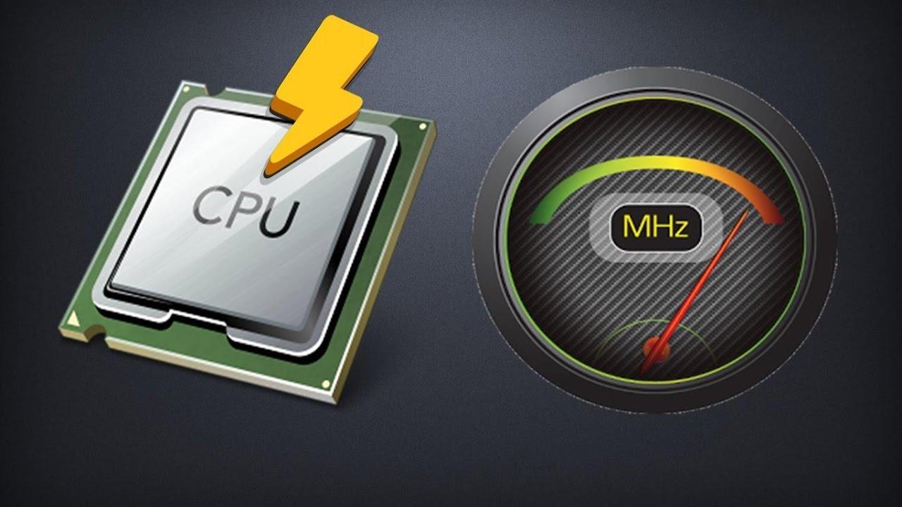 Как увеличить частоту процессора на ноутбуке — разгоняем CPU