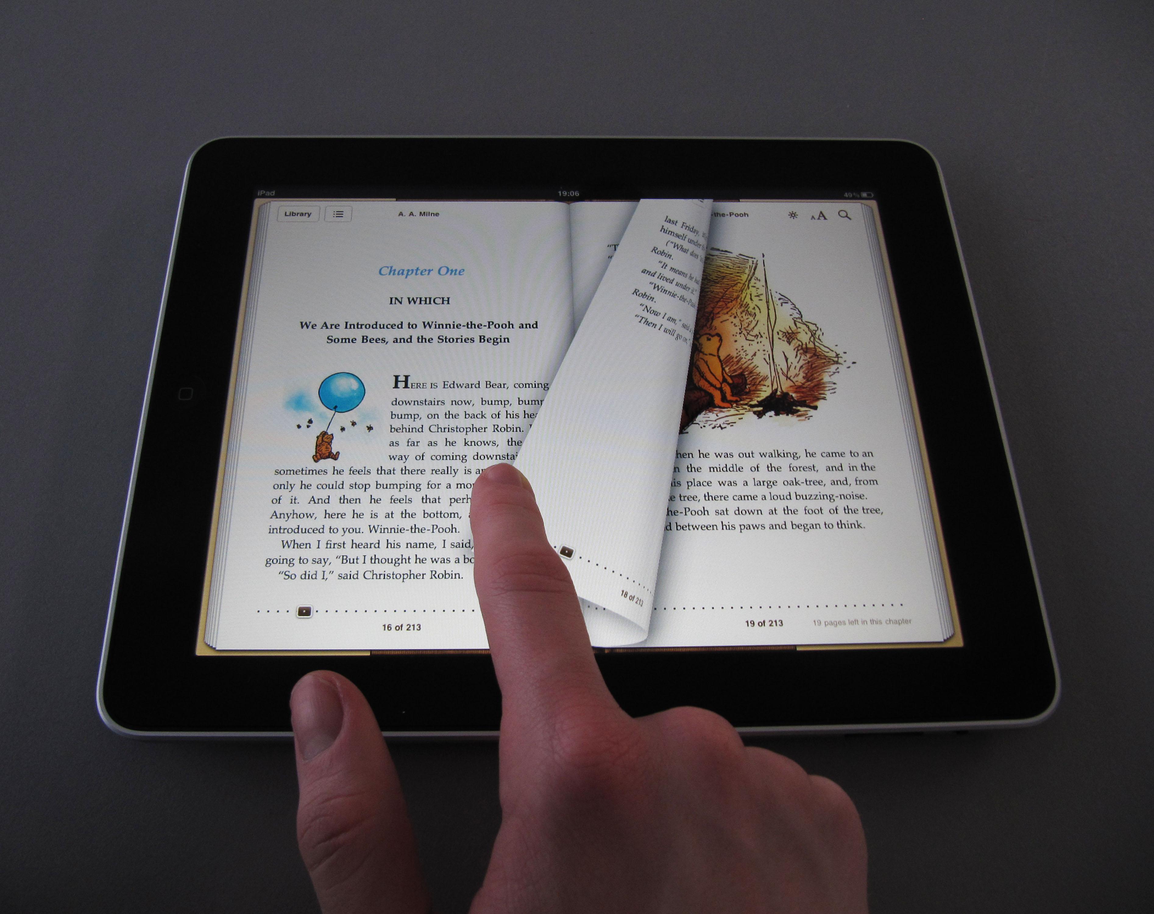 Качаем книги для iPad