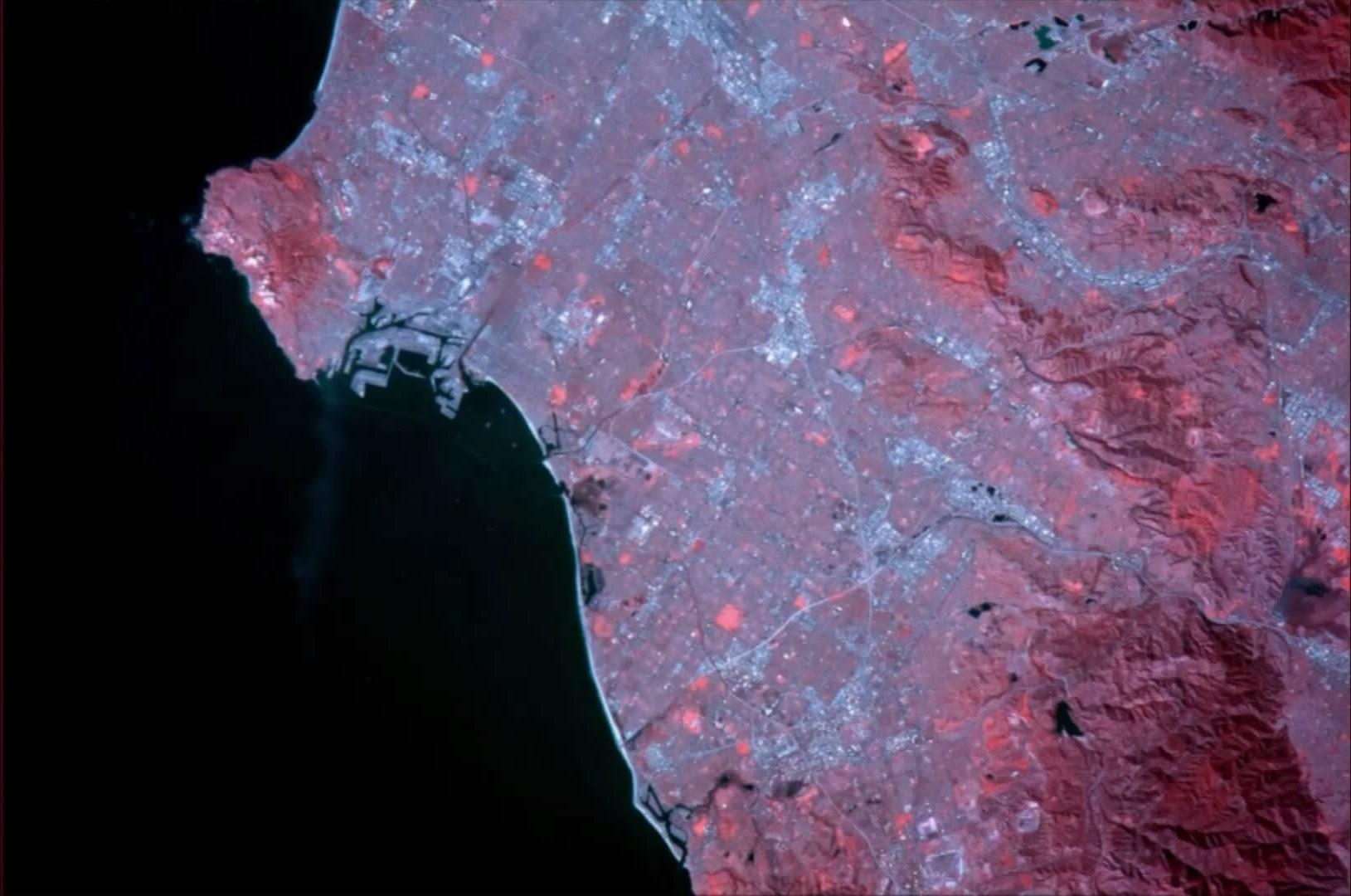 Земля в инфракрасном диапазоне: это стоит увидеть
