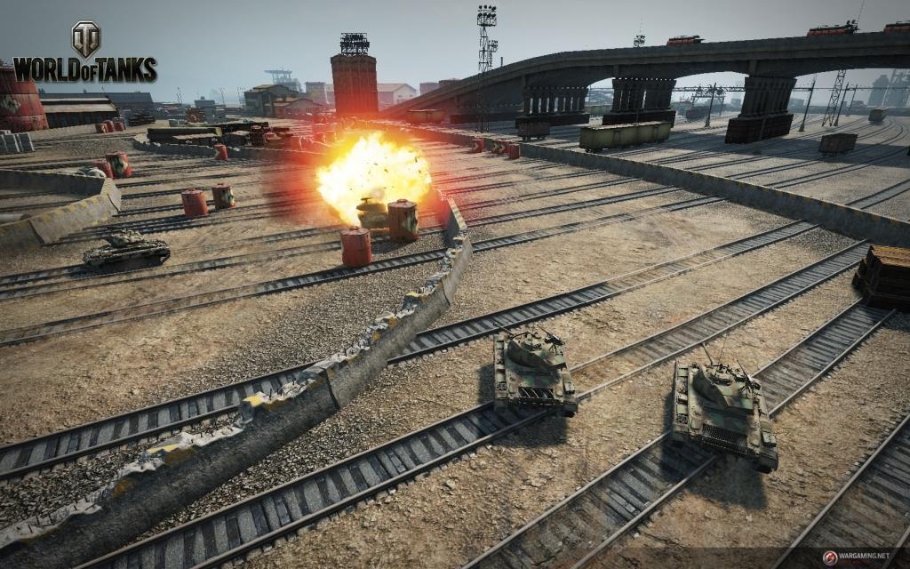 World of Tanks объявляет гоночный забег