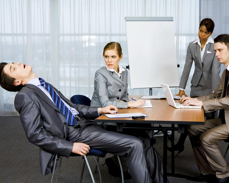 Как не уснуть во время совещания?