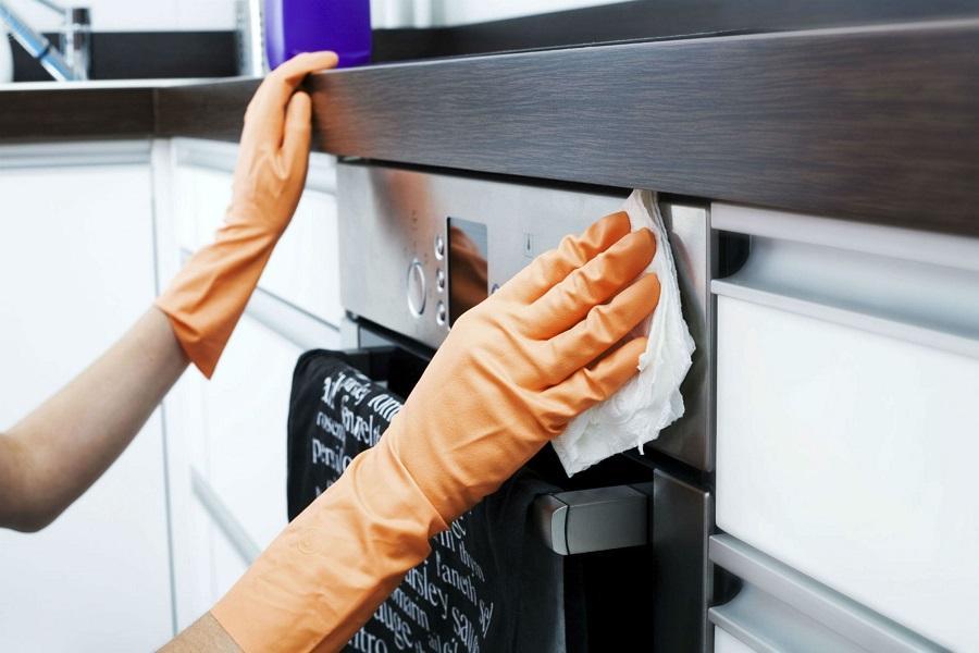 Как отмыть кухню: моем холодильник, линолеум, раковину