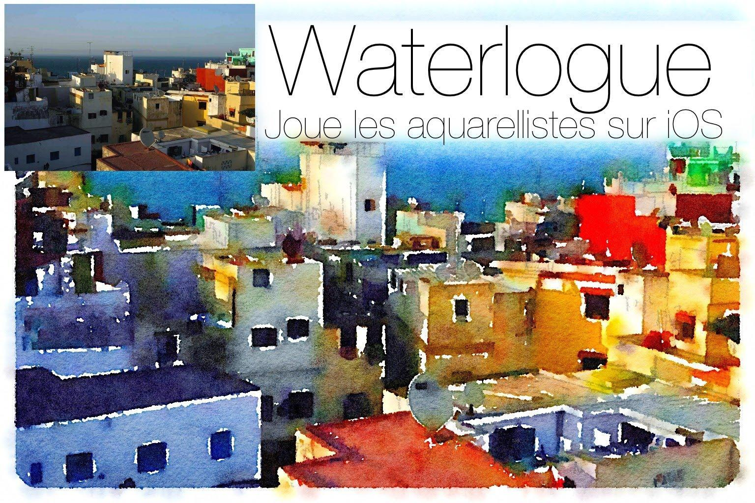 Waterlogue для iPhone: как сделать акварель из фотографии