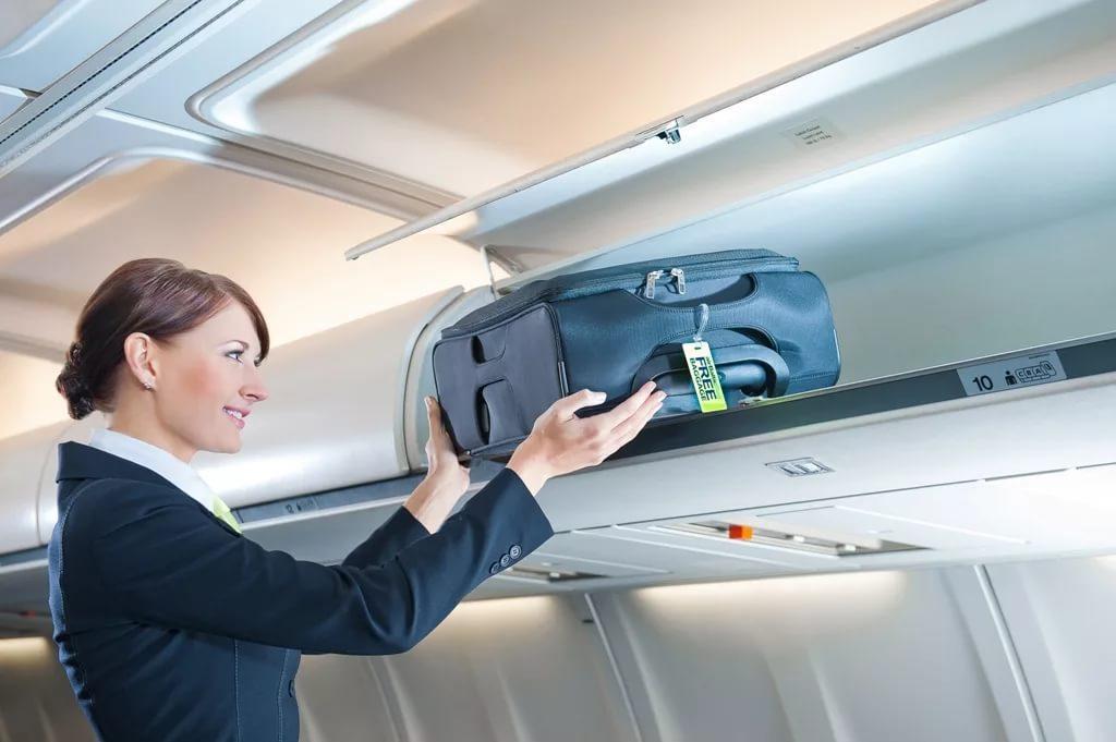 Размер ручной клади в самолете: правила перевозки