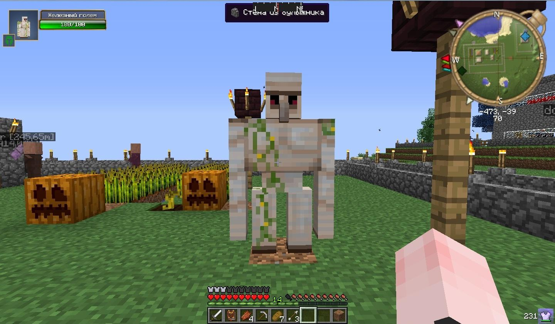 Как приручить железного голема в Minecraft: а надо ли вам это?
