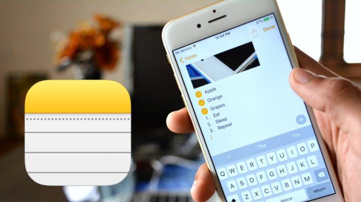 Как пользоваться приложением Заметки на iPhone и iPad. Восстановление и синхронизация