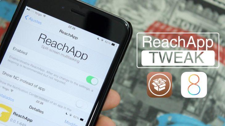 Твик ReachApp добавляет многооконность в iOS 8