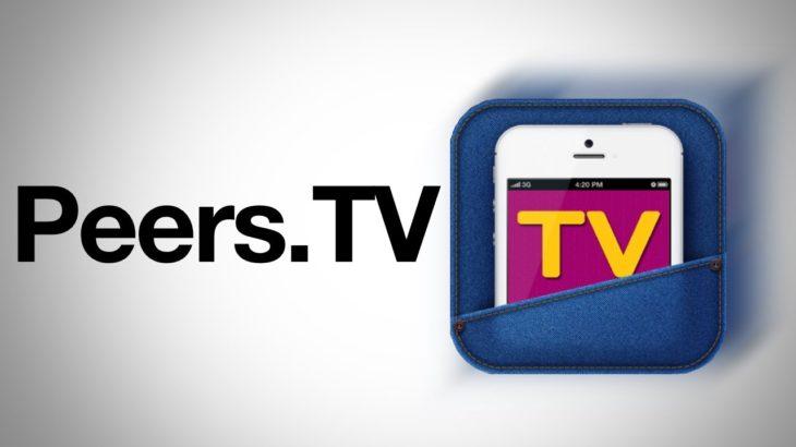 Peers.tv: бесплатно смотрим ТВ на Android или iOS