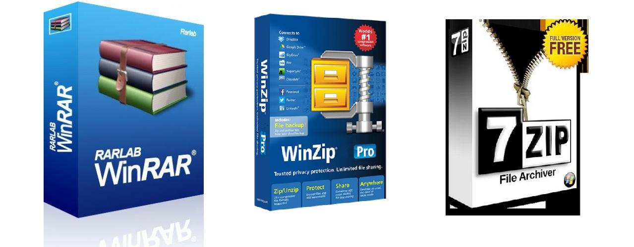 Какой формат сжатия файлов лучше — 7z, zip или rar?