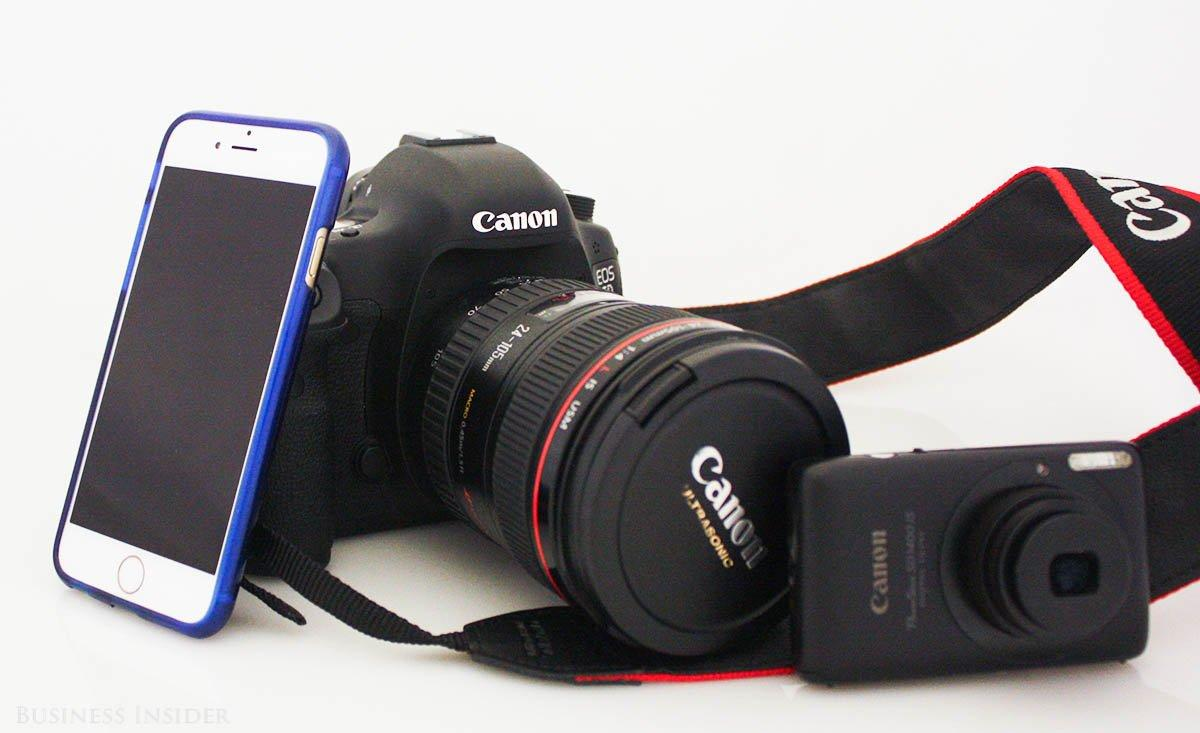 Apple iPhone 6 против Canon EOS 5D Mark III