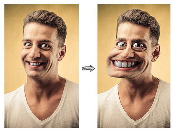 Уроки в Adobe Photoshop: создание фотокарикатуры