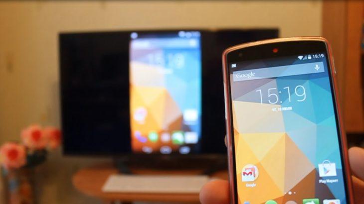 Как подключить телефон на Android к телевизору?