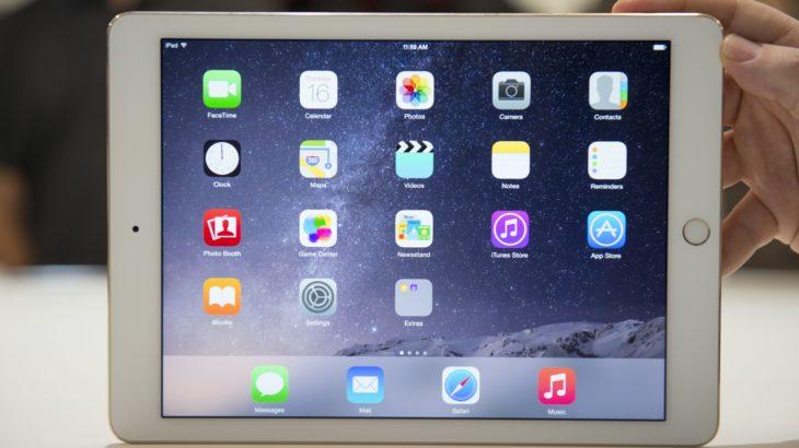 iPad Air 2 получит более тонкий корпус и сенсорные кнопки?