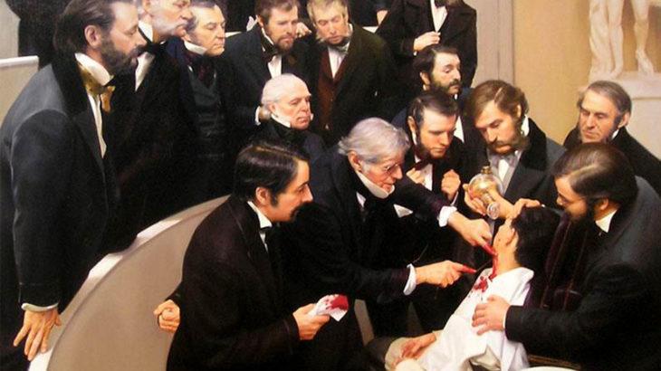 Легенда хирургии Роберт Листон: смертность 300%
