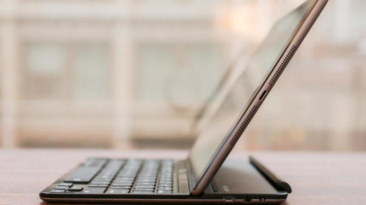 Компактная клавиатура для iPad Air Logitech Ultrathin Keyboard Cover работает без нареканий