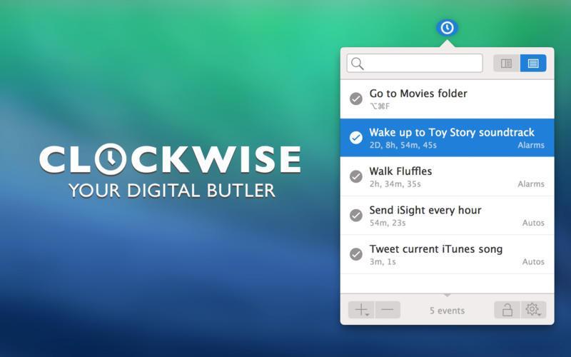 Используйте Clockwise для автоматизации Mac