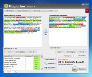 Программа для проверки на плагиат: Plagiarism Checker X