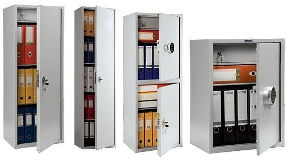 Конструкционные особенности и преимущества бухгалтерских шкафов