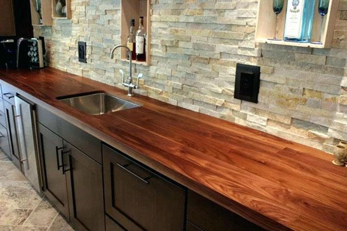 Кухонные столешницы: разные материалы, разные свойства