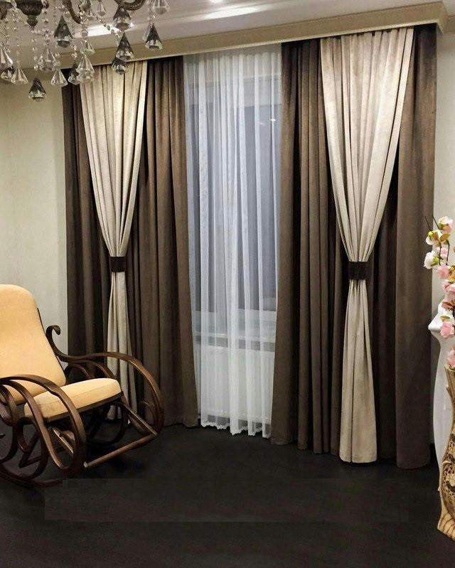 Как выбрать шторы в различные комнаты