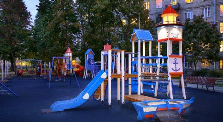 Компания Авен - производитель детских, спортивных площадок и малых архитектурных форм