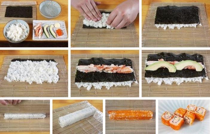 Чем отличаются суши от роллов